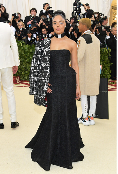 Tessa Thompson in Thom Browne